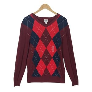 NWT Old Navy Argyle Pullover Sweater